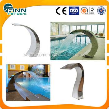 Cobra Swimming Pool Spa Shower Water Blade Waterfall Fountain Nozzle Buy Waterfall Fountain