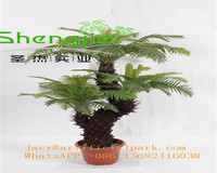 SJLJ0777 Shengjie wholesale Ornamental plants , artificial cycas plant with 28 leaves