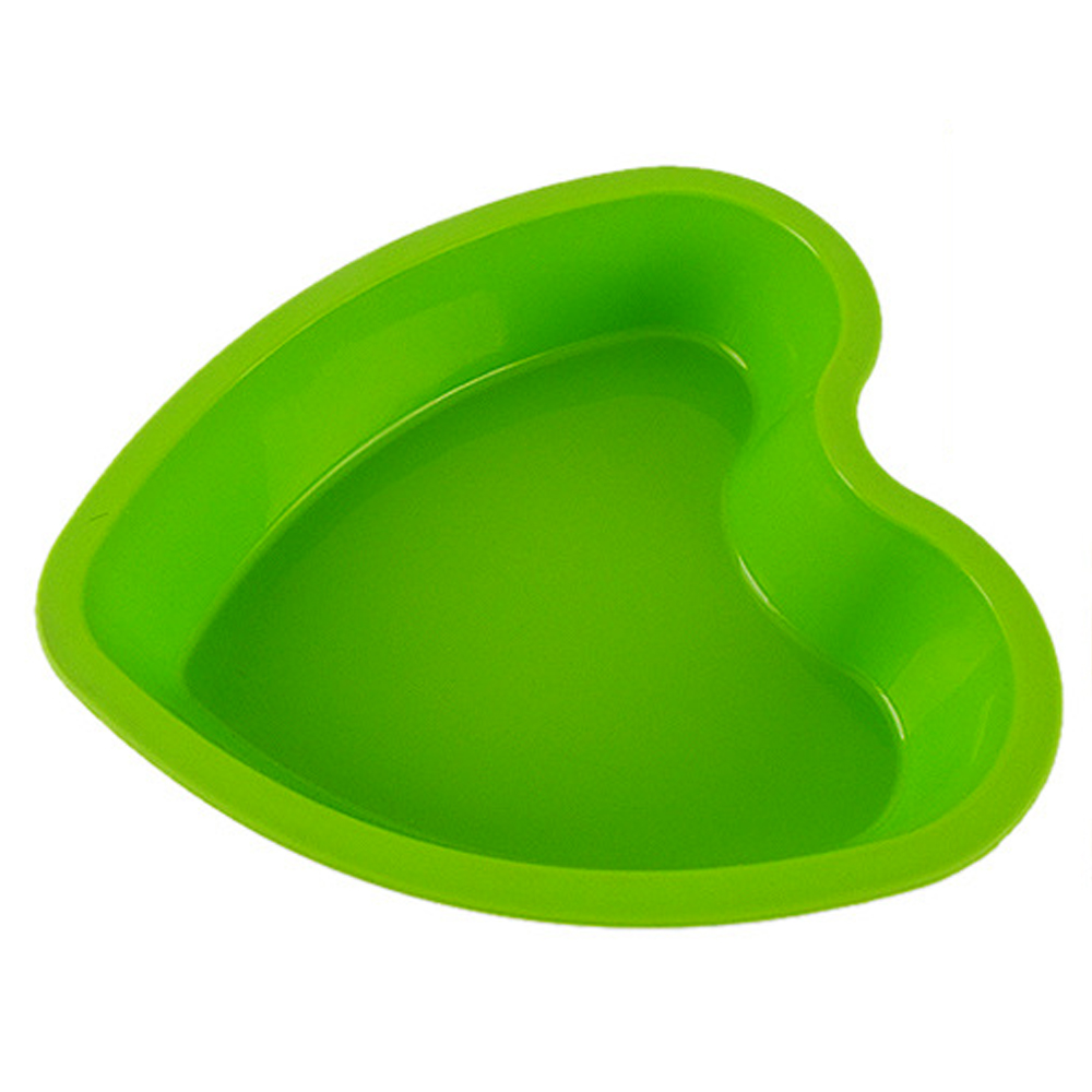 Hot sale cheap price heart shape silicone cake mold for make cake