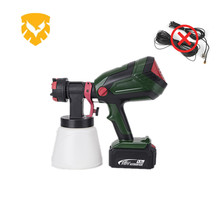 Wireless professional electrostatic air spray gun, airless paint and airless paint sprayer