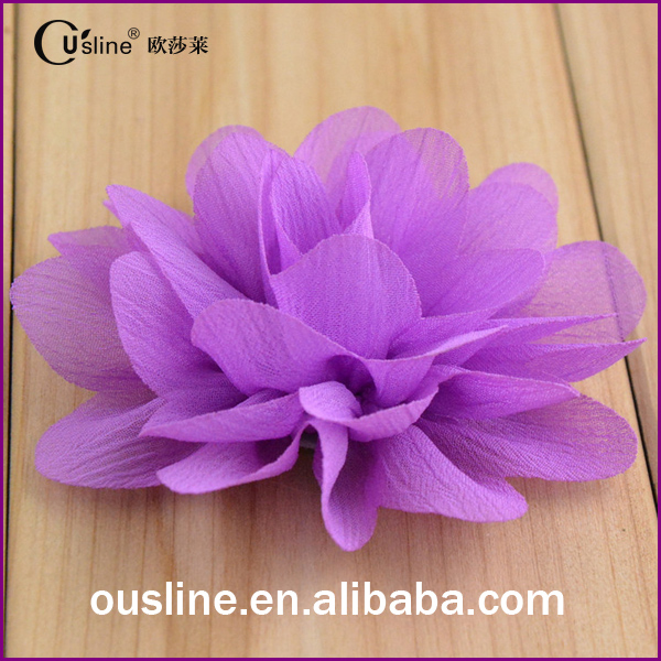Cheap wholesale artificial flower for clothing