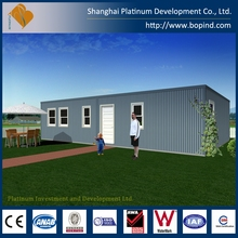 Safe and Folded Container House for Office