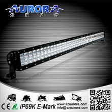 Hot sell AURORA 40 inch double row 400W led light 2 inch 12v off road