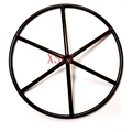 "pipe spokes welding handwheel(diameter:45"") for valves hand wheel for valve"