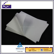 Paper adhesive shipping label A4