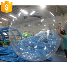 clear floating inflatable water walking balls