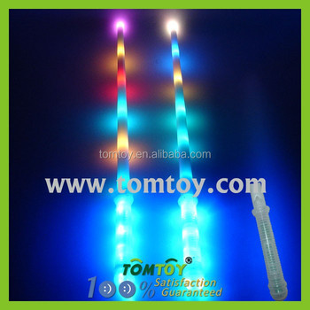 Plastic Rainbow Led Flashing Light Sword Toy