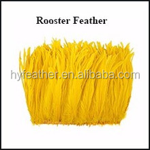 China Horng Shya Factory Exporter High Quality Natural Washed Feather 50pcs Chicken Feathers
