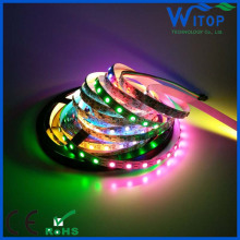 24v RGB Color led pixel light 60pixel p943 ic 5050 led strip