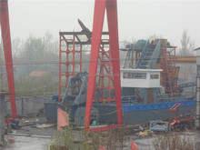 China bucket chain dredger