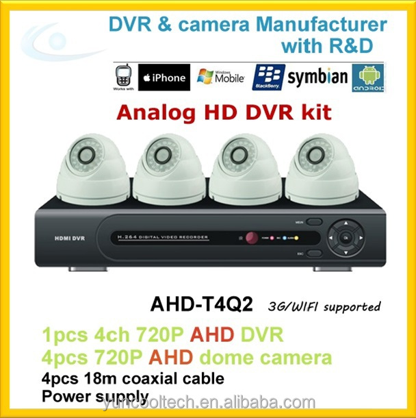 New Arrival onvif AHD cctv h.264 network dvr video surveillance system