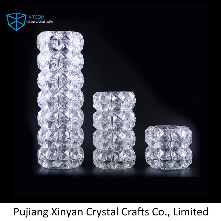 Factory Sale custom design crystal vase wholesale