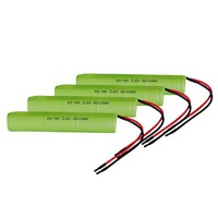 3.6V Ni---MH 600 mAh Battery Pack