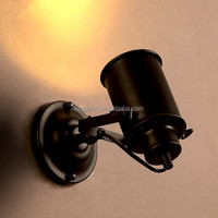 electronic wall lamp tracking lights vintage wall reading lamp