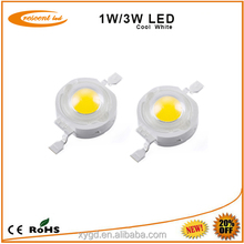 High Lumen 1W 3W Epistar Bridgelux High Power Led Chip Rgb High Power Led