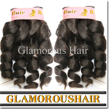 Best Selling Supplier Directly Factory Price Long time No Shedding No Tangle hair extensions ,rich curly