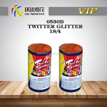 0530B TWITTER GLITTER FOUNTAINS 1.4G UN0336 HIGH QUALITY HAPPINESS FACTORY DIRECT SALE OUTDOOR FIREWORKS FUEGOS ARTIFICIALES