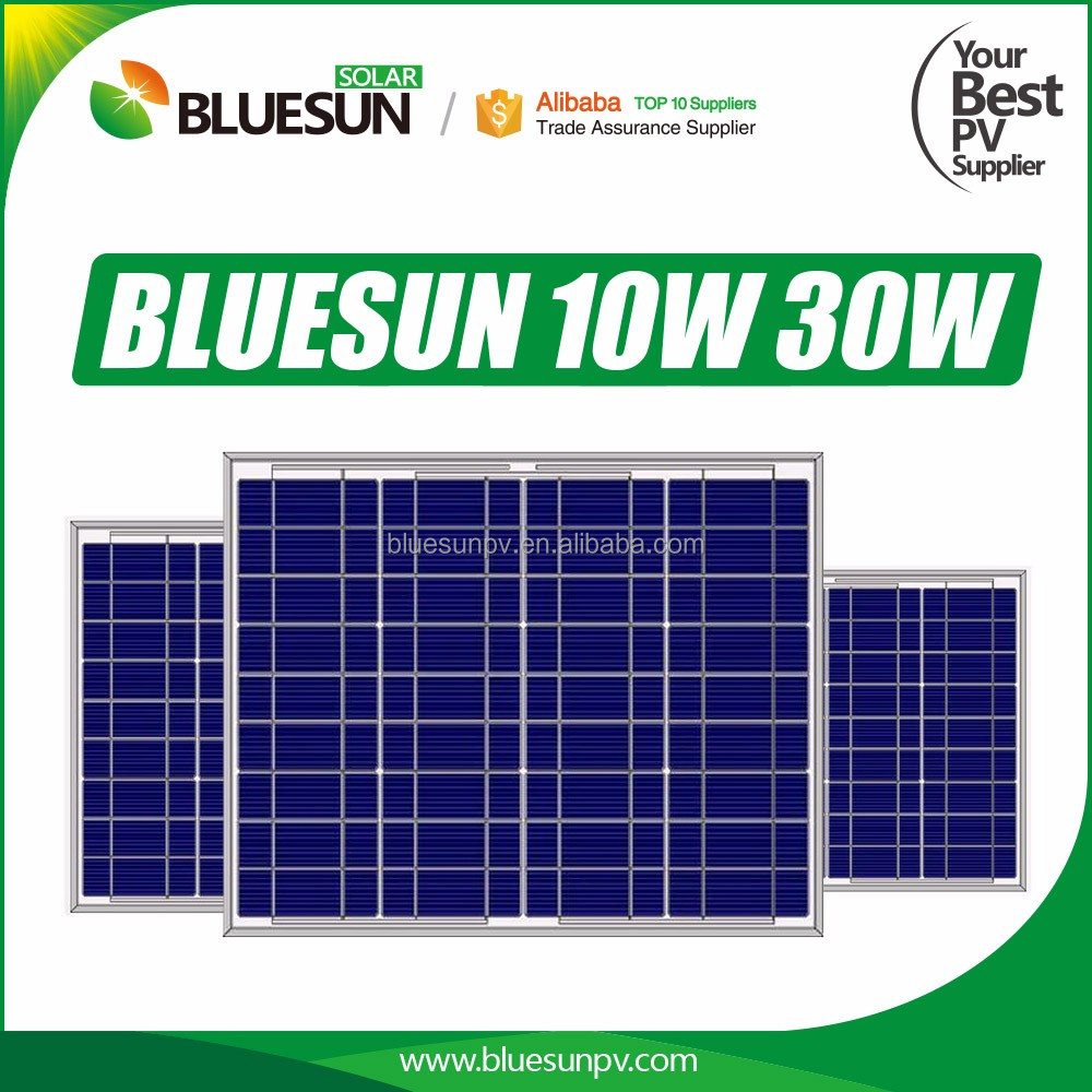 High efficiency and best price poly 30w solar panel 12v