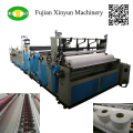 Small bobbin paper automatic slitting and embossing machinery