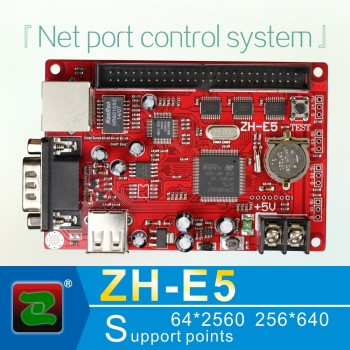 Zhonghang ZH-E5 Led display screen usb disk network serial port control card