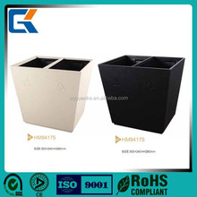 Durable room classify waste bins for hotel