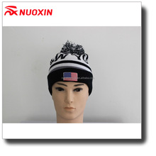NX custom made Unisex sport knit stretch jersey cotton skiing beanie hat