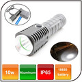 Powered by 18650 battery mini torch outdoor emergency waterproof powerful led flashlight