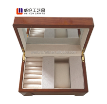 hot sale 2013 new design antique wood jewelry box/small antique wooden jewelry box