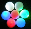 Night use professional high quality LED flashing or Non-flash golf ball