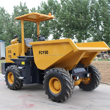 China FCY50 4wd 5 ton Hydraulic small dump truck for sale
