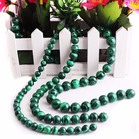 Malachite rough 4-10mm beads jewelry malachite stones for sale