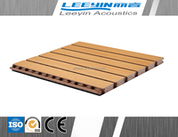 high quality interior wall paneling lowes soundproofing wooden grooved acoustic panel for classroom/ meeting room/ office