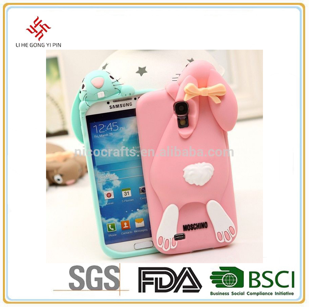 5.5 inch 3d silicone android phone case
