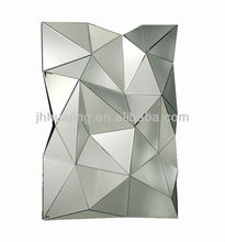 Hot Sale Stylish Abstract Decorative Glass Fancy 3D Art Wall Mirror/Hallway /Wall Decor/Hotel Mirror/Espejo