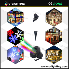 Outdoor Snowflake Easter Wedding Birthday Party LED Projection Light Christmas Decoration Lights