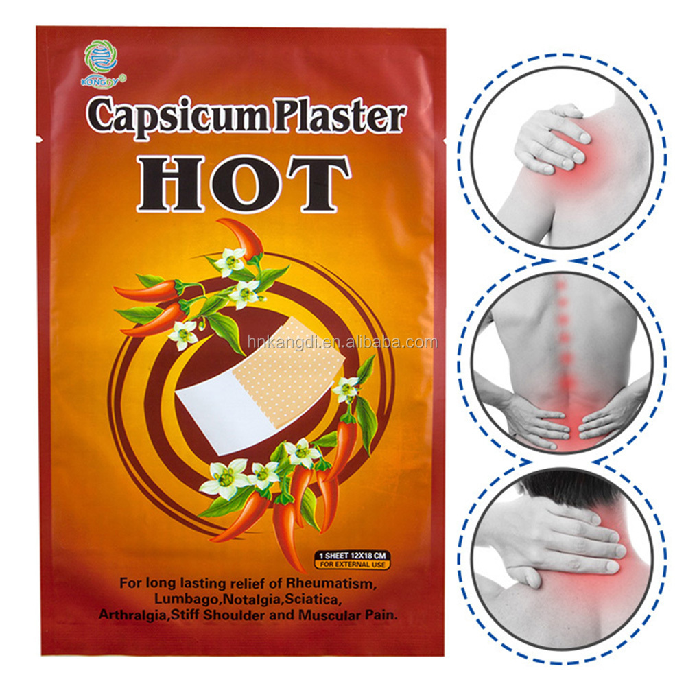QS8001 hot selling Pain Relief Acupuncture Patch for back pain