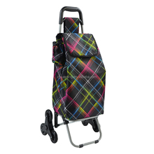 YY-33X28 many colors shopping stair climbing trolley bag With Small MOQ