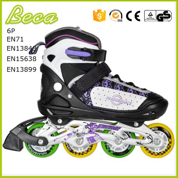 wholesale adjustable street customized roller skate shoes for adults