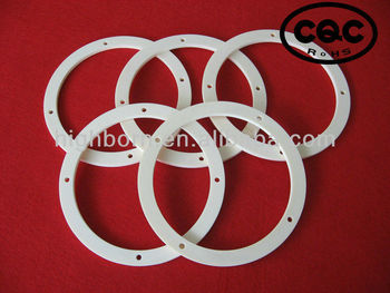 CNC machining 99.5% Alumina ceramic ring
