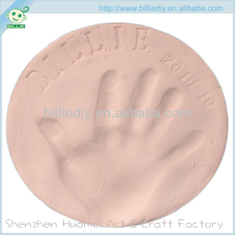 baby hand prints clay kit