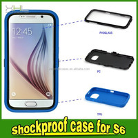 3 in 1 Robot Protective Phone Case For Samsung Galaxy S6 Cover