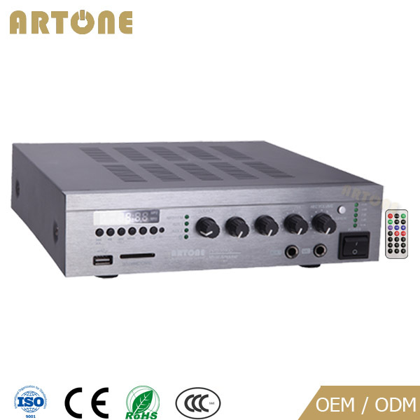 ARTONE PMS-1030D 4 audio sources mixer 12v amplifier bluetooth