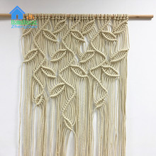 Sell well high quality handcrafted fabric wall macrame hangings