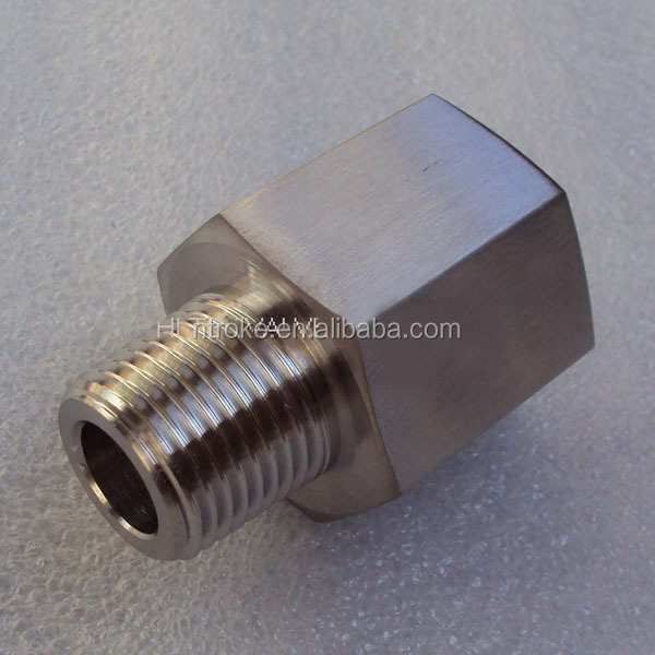 gauge adapters female ISO parallel thread to male NPT