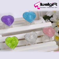 Led ring light Party flashing heart shape ring light