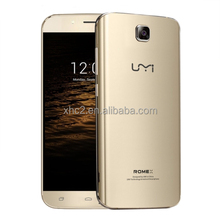 alibaba express cheap 5.5 inch Android 5.1 MT6580 Quad-core up to 1.3GHz UMI ROME X mobile phone