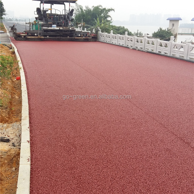 Colored bitumen / decoloring asphalt emulsion / color modified bitumen