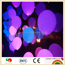 Mixed Color high quality latex material Wedding Light up Decoration Flash LED Balloon