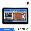 Latest 16:9 digital panel 19 inch black touch screen pc digital signage player