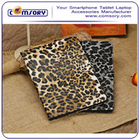 Leopard print Pattern PU Leather Stand Cover Case for APPLE iPad Air Paypal Acceptable